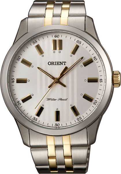 Мужские часы Orient QC0U002W lilac