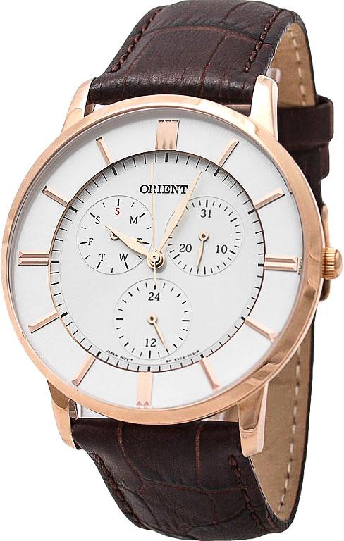 Мужские часы Orient SX02001W Женские часы Rhythm A1403S03