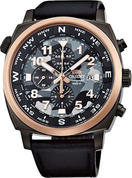 Мужские часы Orient TT17003B авточехлы autoprofi tt полиэстер трикотажная сетка 9 предметов airbag черный темно серый размер м tt 902m bk d gy