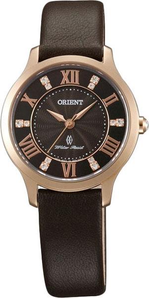 Женские часы Orient UB9B001T exclaim тонкий браслет с кристаллами