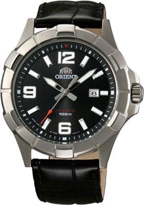 Мужские часы Orient UNE6002B garmin vivomove premium со стальным корпусом и кожаным ремешком золотистые