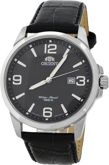 Мужские часы Orient UNF6004B garmin vivomove premium со стальным корпусом и кожаным ремешком золотистые