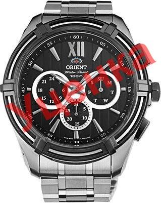 Фото - Мужские часы Orient UZ01002B-ucenka женские часы orient qcbg004w ucenka