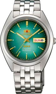 5059ba702658 Мужские наручные часы Orient (Ориент) с зеленым циферблатом — купить ...