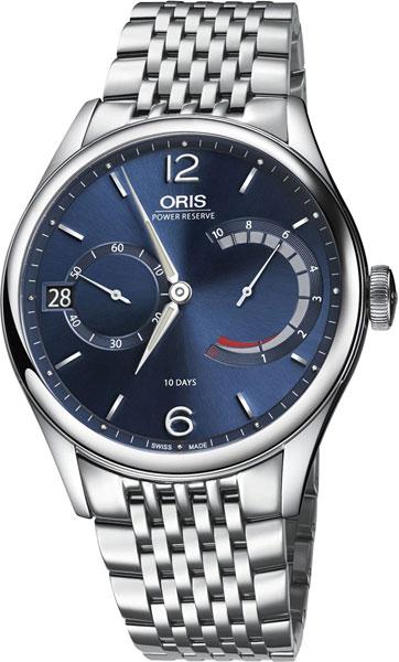 Мужские часы Oris 111-7700-40-65MB oris 643 7636 71 91 rs