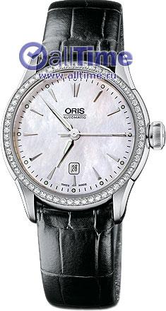 Женские часы Oris 561-7604-49-56LS rainford rbн 7604 bm1 black