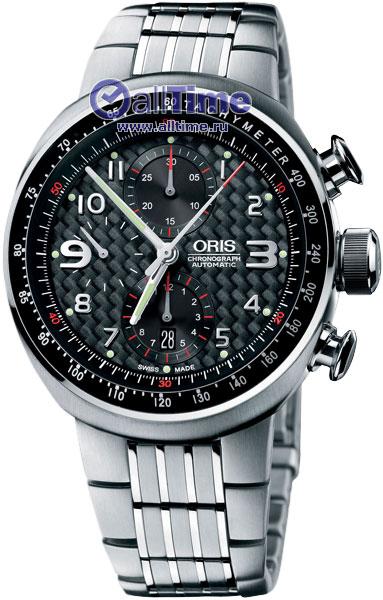 Мужские часы Oris 674-7587-72-64MB часы oris tt3 674 7611 7764rs