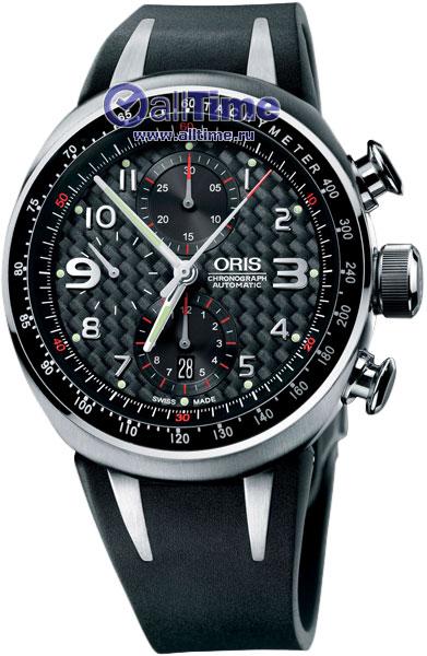 Мужские часы Oris 674-7587-72-64RS часы oris tt3 674 7611 7764rs