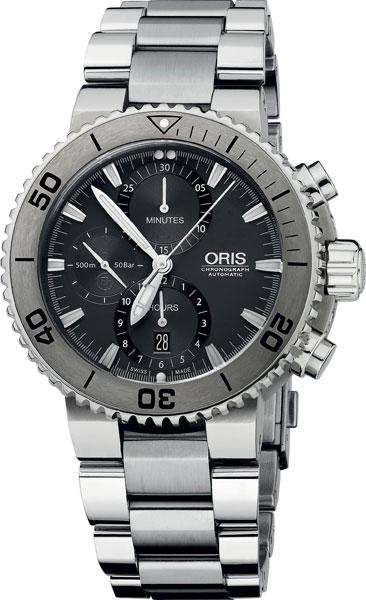 Мужские часы Oris 674-7655-72-53MB