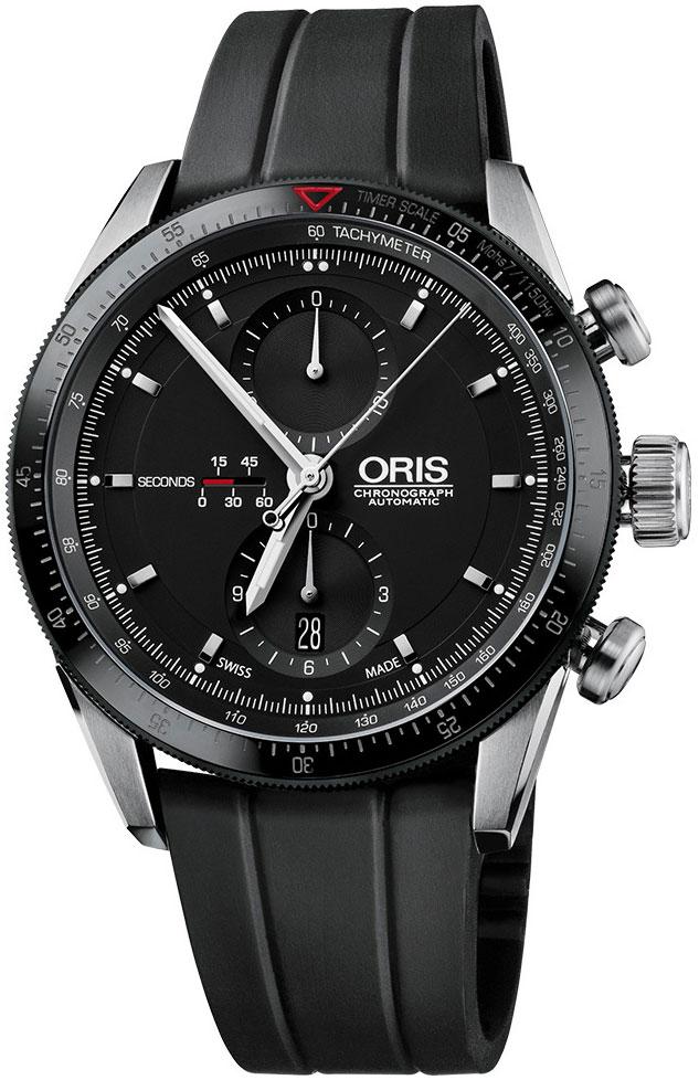 Мужские часы Oris 674-7661-44-34RS часы oris tt3 674 7611 7764rs