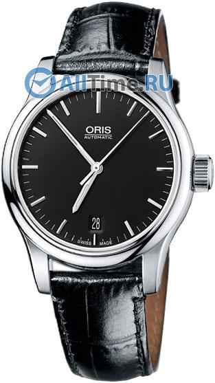 Мужские швейцарские механические наручные часы Oris 733-7578-40-54LS