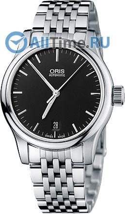 Мужские швейцарские механические наручные часы Oris 733-7578-40-54MB
