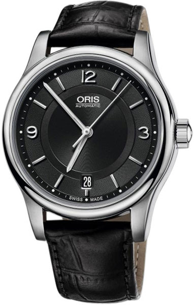 Мужские швейцарские механические наручные часы Oris 733-7594-40-34LS