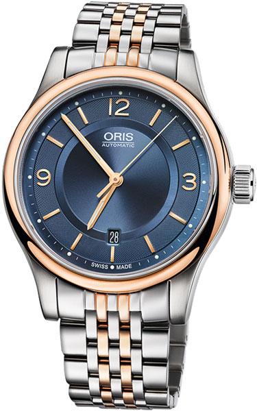 Мужские часы Oris 733-7594-43-35MB мужские часы oris 733 7594 43 35ls