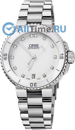 Женские швейцарские механические наручные часы Oris 733-7652-41-91MB