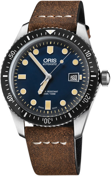 Мужские часы Oris 733-7720-40-55LS-ucenka мужские часы oris 733 7653 41 83 set rs ucenka