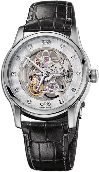 Женские часы Oris 734-7670-40-19LS мужские часы oris 734 7714 40 54mb