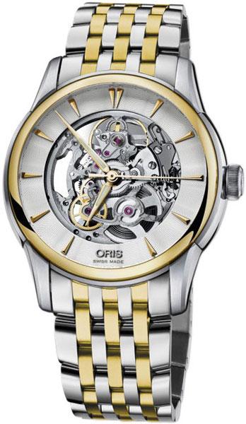 Мужские часы Oris 734-7670-43-51MB женские часы oris 734 7670 40 19ls