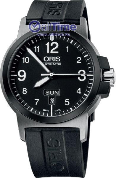 Мужские швейцарские механические наручные часы Oris 735-7641-43-64RS