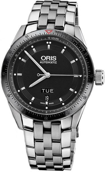 Мужские часы Oris 735-7662-44-34MB браслет стальной к часам маурицио