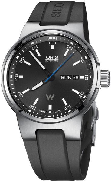 Мужские швейцарские механические наручные часы Oris 735-7716-41-54RS