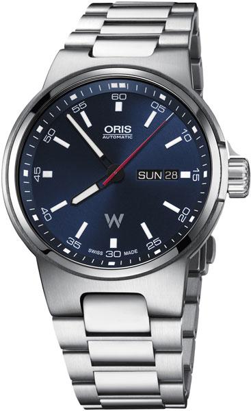 Мужские швейцарские механические наручные часы Oris 735-7716-41-55MB