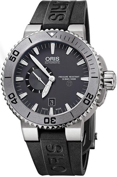 Мужские часы Oris 743-7664-72-53RS мужские часы oris 585 7622 70 64ls