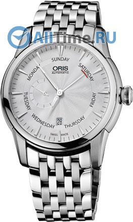Мужские часы Oris 745-7666-40-51MB мужские часы oris 585 7622 70 64ls