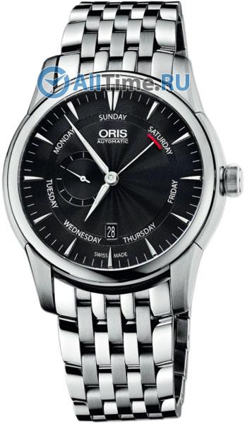 Мужские часы Oris 745-7666-40-54MB festo round cylinders mini cylinder dsnu 20 50 p a dsnu 20 75 p a dsnu 20 100 p a