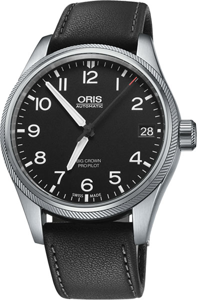Мужские часы Oris 751-7697-41-64LS Мужские часы Adriatica A8142.1251A