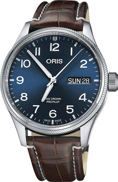 Мужские часы Oris 752-7698-40-65LS мужские часы oris 755 7691 40 54mb