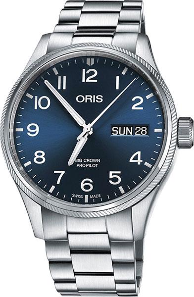 Мужские часы Oris 752-7698-40-65MB мужские часы oris 752 7698 40 65mb