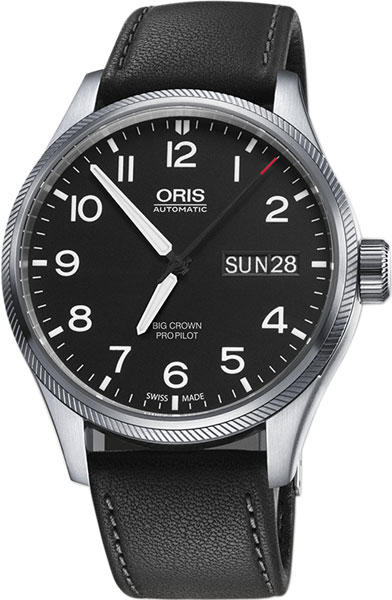 Мужские часы Oris 752-7698-41-64LS мужские часы oris 585 7622 70 64ls