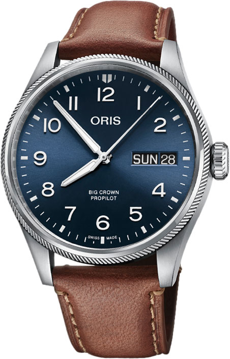 Мужские часы Oris 752-7760-40-65LS