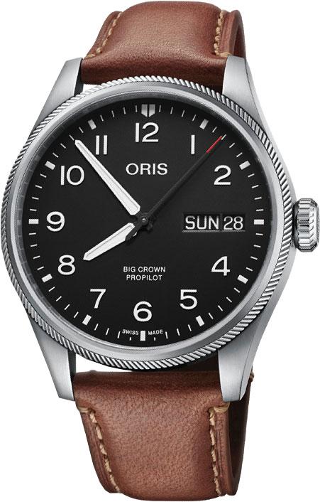 Мужские часы Oris 752-7760-41-64LS