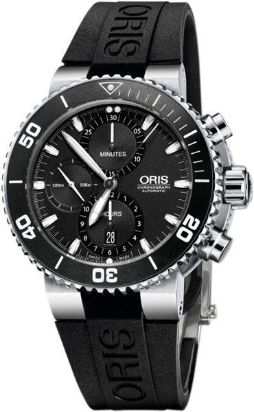 Мужские часы Oris 774-7655-41-54RS oris 643 7636 71 91 rs