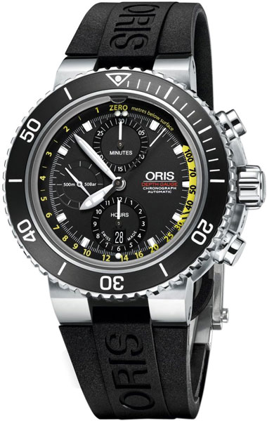 Мужские часы Oris 774-7708-41-54-set