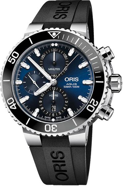 Мужские часы Oris 774-7743-41-55RS