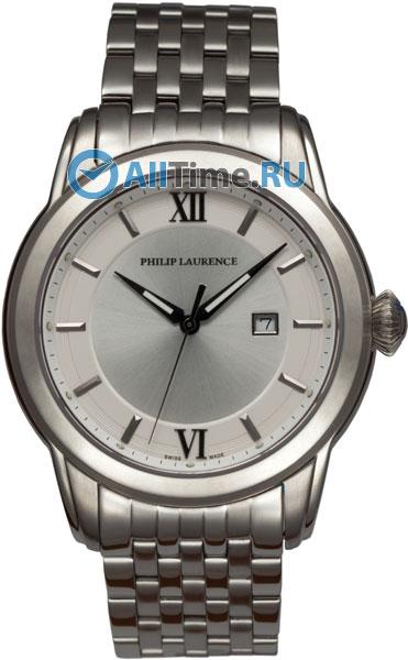 Купить Наручные часы PG23702-73A  Мужские наручные швейцарские часы в коллекции Circle-Oval Philip Laurence