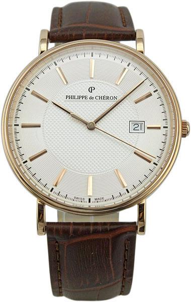 Мужские часы Philippe de Cheron 1004.1262N philippe de cheron elisa 3005 1211n