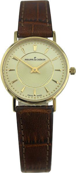 Женские часы Philippe de Cheron 3005.1211N часы женские uno de 50