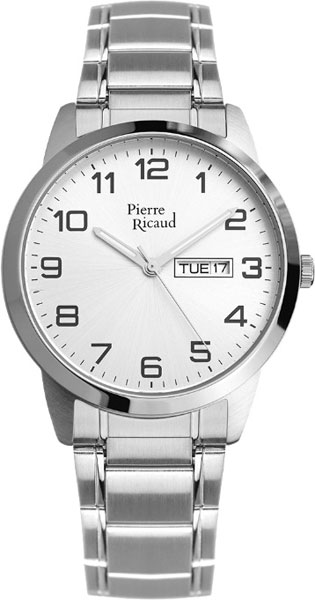 Мужские часы Pierre Ricaud P15477.5123Q мужские часы pierre ricaud p91082 b114q