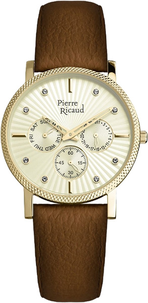 Женские часы Pierre Ricaud P21072.1291QF галстуки pierre lauren галст��к