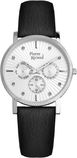 Женские часы Pierre Ricaud P21072.5293QF галстуки pierre lauren галст��к
