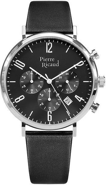Мужские часы Pierre Ricaud P22027.5254CH мужские часы pierre ricaud p91082 b114q