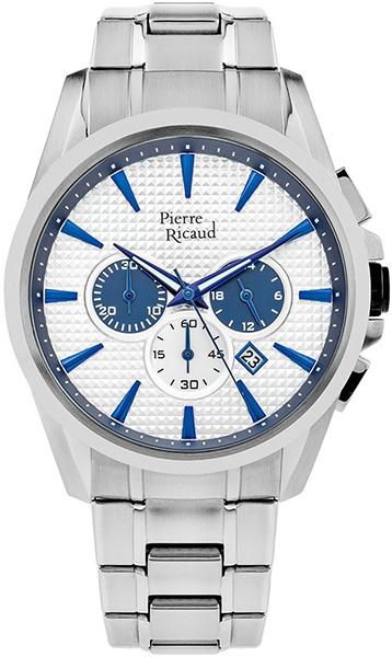 Мужские часы Pierre Ricaud P60017.51B3CH мужские часы pierre ricaud p91082 b114q