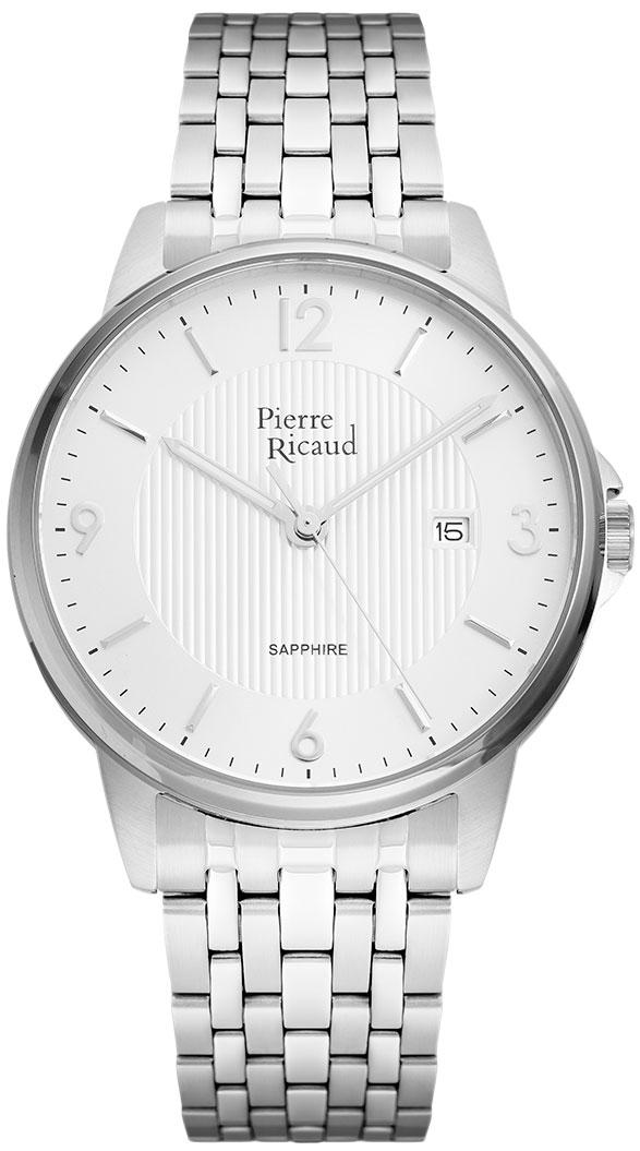цена Мужские часы Pierre Ricaud P60021.5153Q онлайн в 2017 году