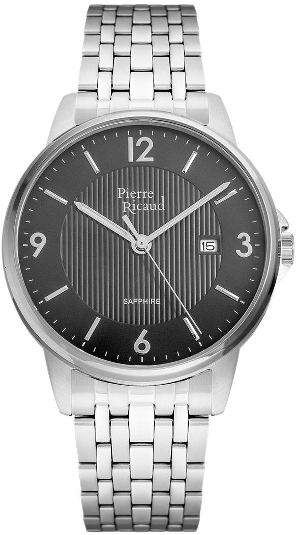цена Мужские часы Pierre Ricaud P60021.5156Q онлайн в 2017 году
