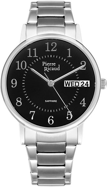 Мужские часы Pierre Ricaud P91067.5124Q мужские часы pierre ricaud p91082 b114q
