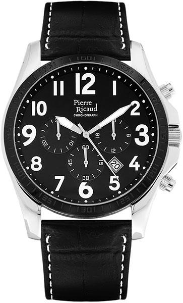 Мужские часы Pierre Ricaud P91070.Y224CH мужские часы pierre ricaud p91082 b114q